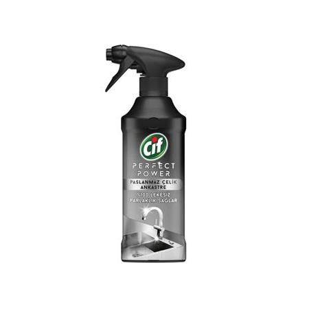 Cif Sprey Perfect Power Paslanmaz Çelik 435 ml